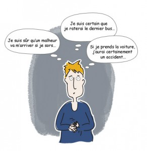 Personne anxieuse