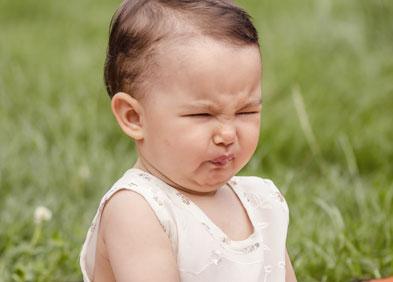 bébé souffrant de reflux gastro-œsophagien