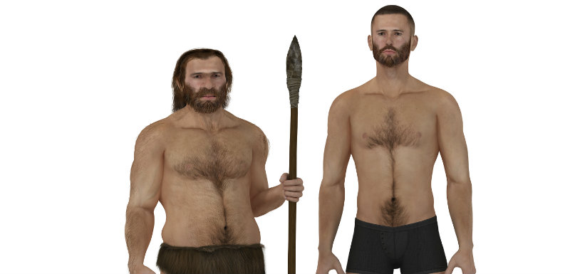 L'homme moderne proche de Néandertal ?