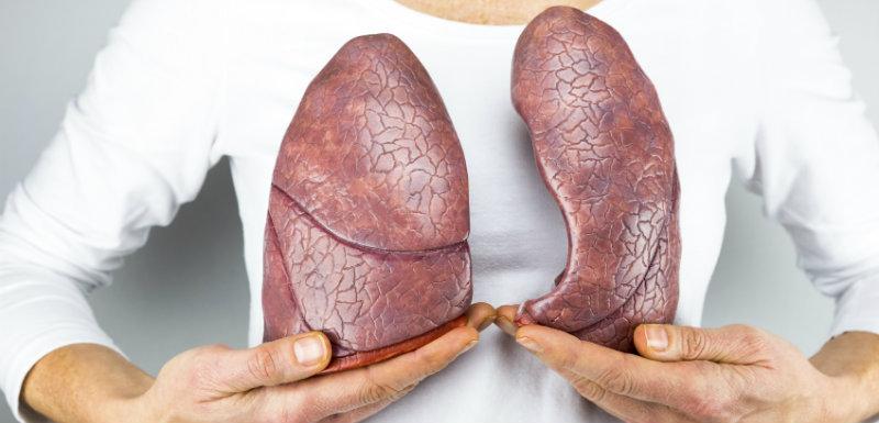 Poumons des fumeurs