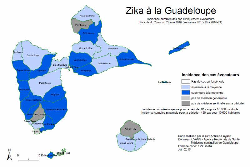 zika guadeloupe