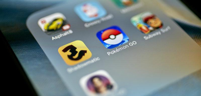 PokémonGo application mobile santé