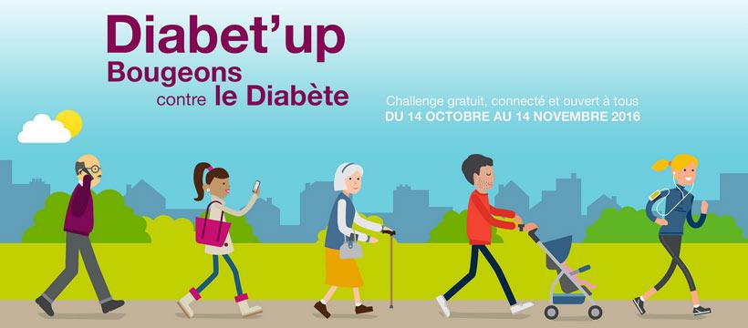 En marche contre le diabète !