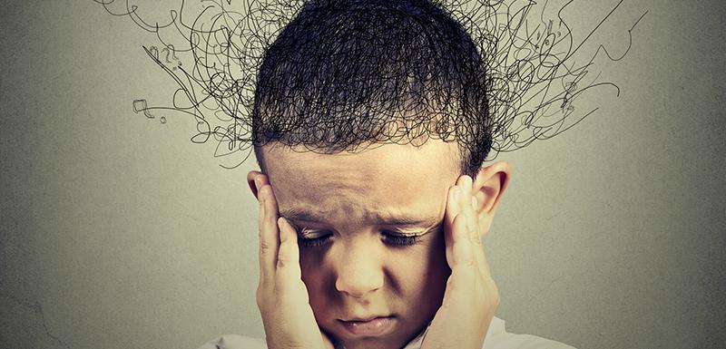 stréssé stress enfant