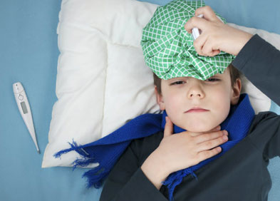 douleur et fièvre chez l'enfant enfant