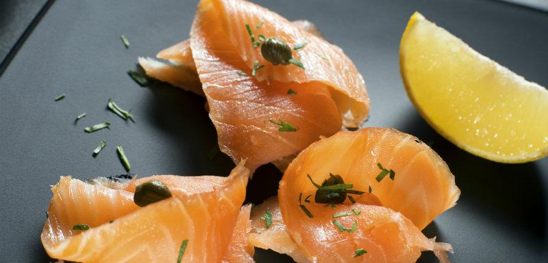 Une tranche de saumon fumé bio à Noël?