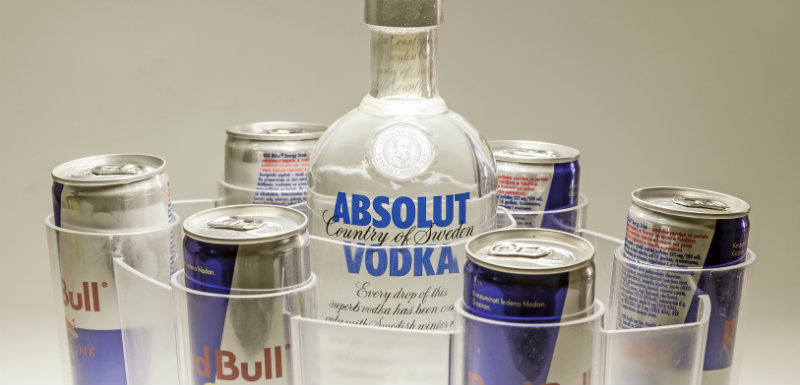 Vodka + Redbull = cocaïne ?