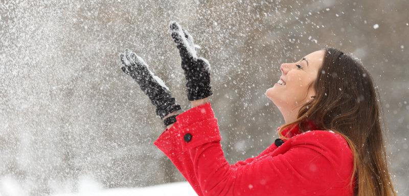 froid et neige en hiver