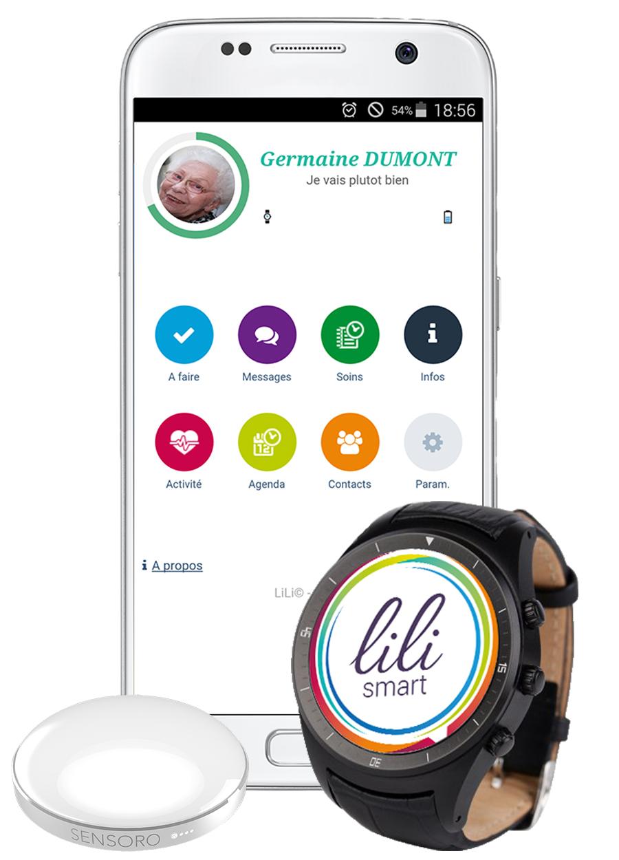 lili smart pack complet objets connectés