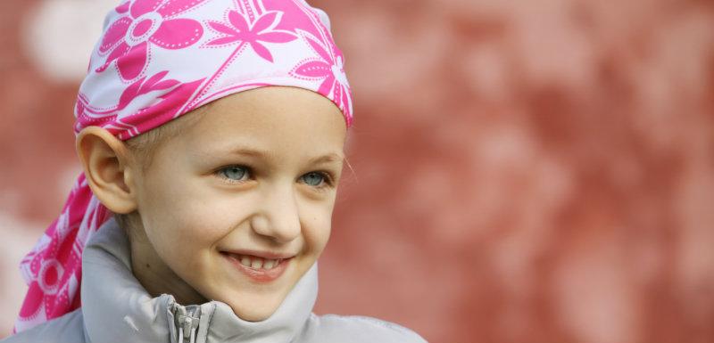 Le cancer frappe aussi les enfants …