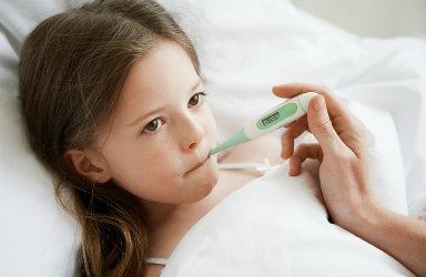 fièvre chez l'enfant