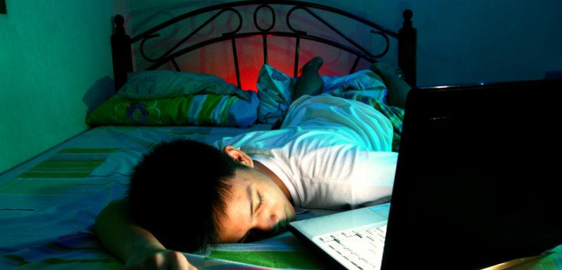 sommeil adolescent matière grise