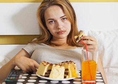adolescente boulimique