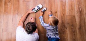 Des papas impliqués, des enfants plus éveillés ?