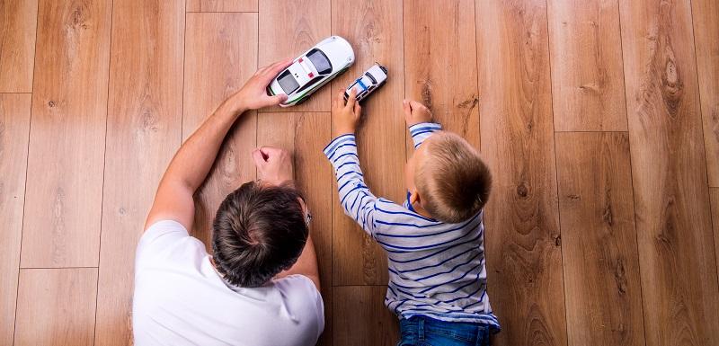 Père développement cognitif enfants