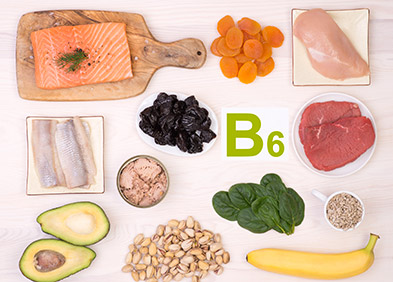 vitamines groupe b6