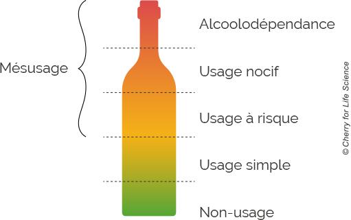 schéma alcoolodependance