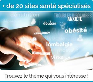 Plus de 20 sites spécialisés