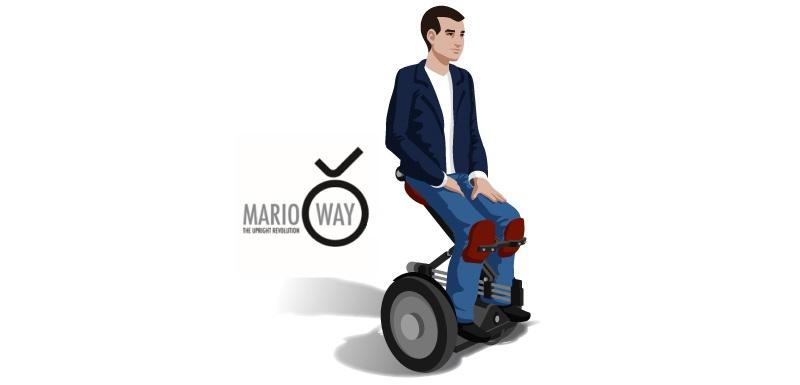 fauteuil roulant révolutionnaire et électrique-MarioWay-handicapés
