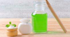 Quand les bains de bouche se mettent au vert !