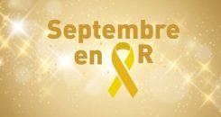 Septembre en or : tous ensemble contre les cancers de l'enfant !