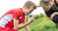 Réduction de l'asthme grâce à la vitamine D