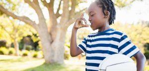 Espaces verts en ville : un bol d'air pour les enfants asthmatiques !