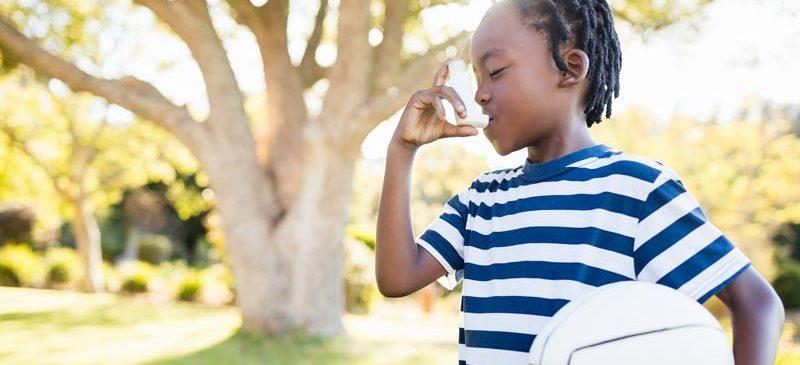 Enfants asthmatiques et espaces verts