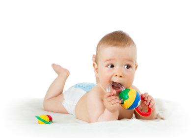 Poussée dentaire du nourrisson