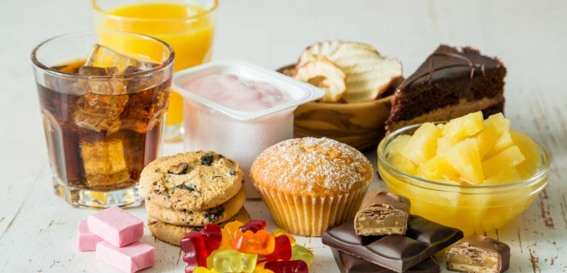 Aliments - sucres libres