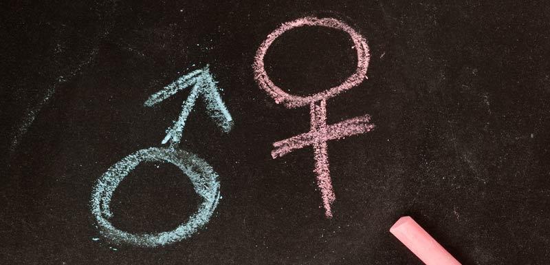 Symbole des sexes - sclérose en plaque - IL-33