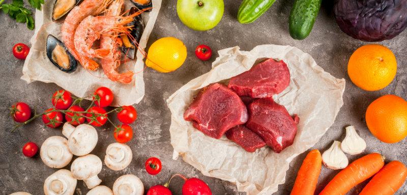 ménopause et aliments