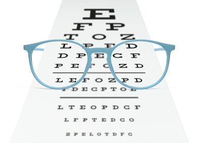 astigmatisme lunettes test de vision alphabet