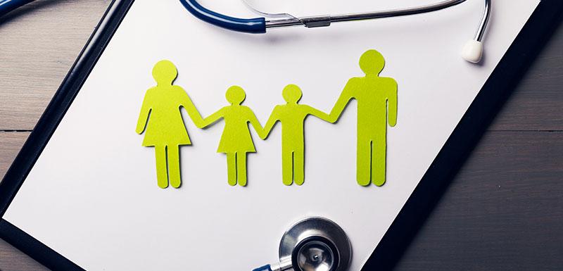 santé de la famille et la plan Priorité Prévention du gouvernement