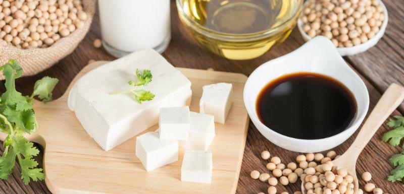 protéines végétales - divers aliments