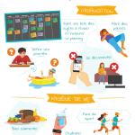 Infographie : gérer son stress en période d'examens