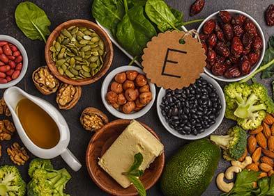 aliments - carence en vitamine E