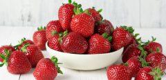 Pour être en forme, mangez des fraises!