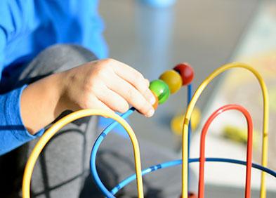 jeu - éducation - syndrome de Rett