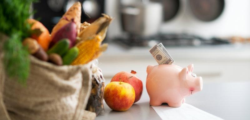 Alimentation équilibrée avec un petit budget