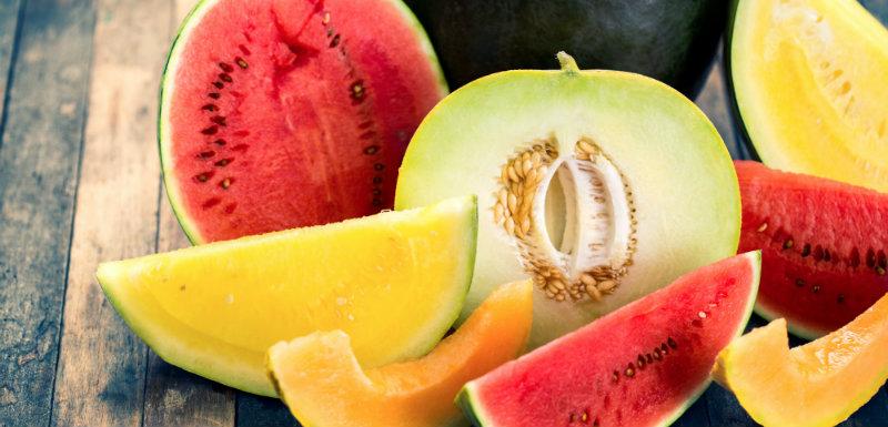 Melon et pastèque