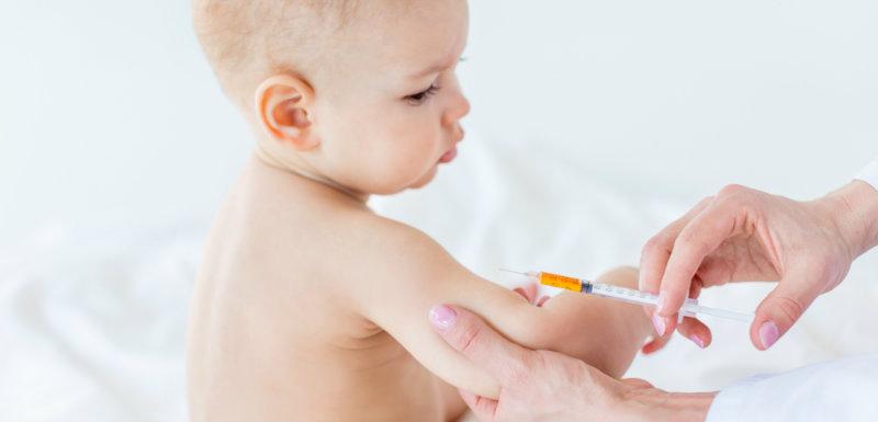 Les vaccinations d'un bébé