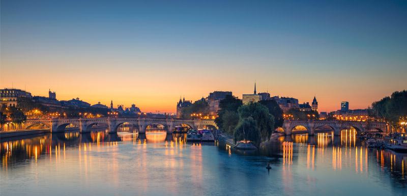 Paris îlots de chaleur urbains (ICU)