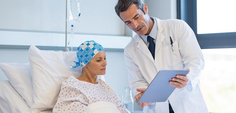 Immunothérapie d'une patiente