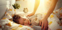 Le sommeil intimement lié au bien-être de l'enfant