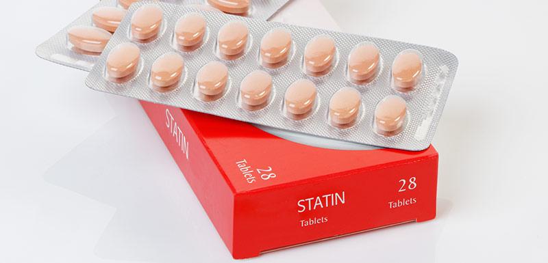 boîte de médicaments, statines