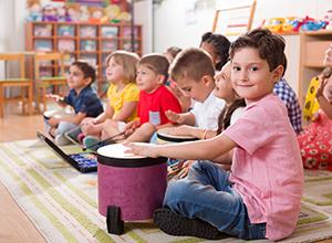 Musicothérapie avec des enfants