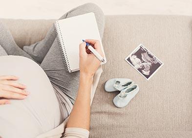 formalités de la grossesse