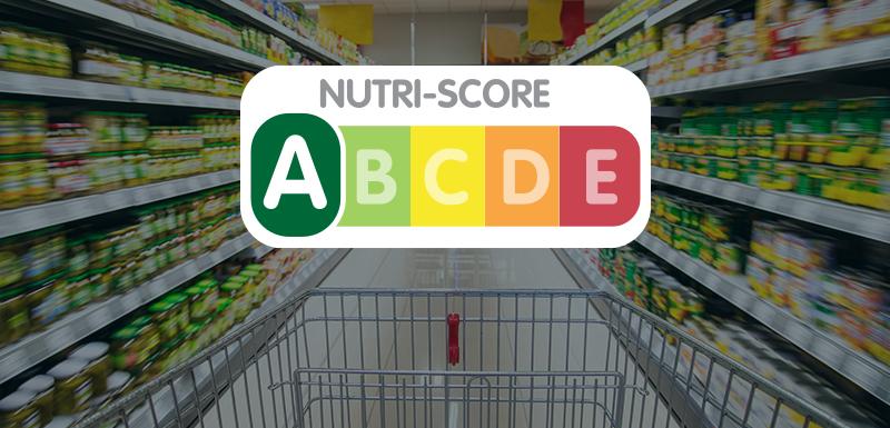 Caddie dans un supermarché en prenant en compte le nutri-score