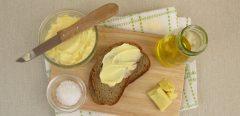 Beurre ou margarine, le même effet sur le cholestérol !